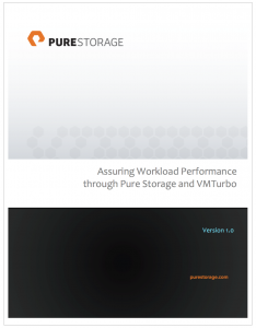 VMTurbo Pure Storage White Paper