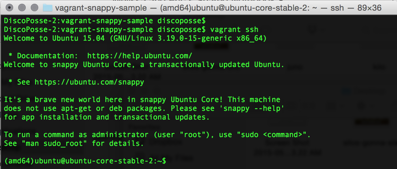vagrant-ssh